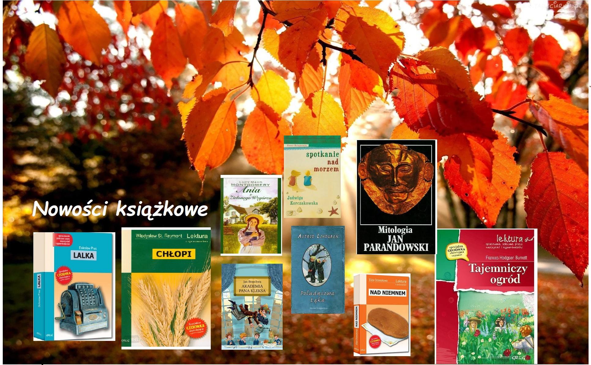 Listopadowe nowości książkowe!