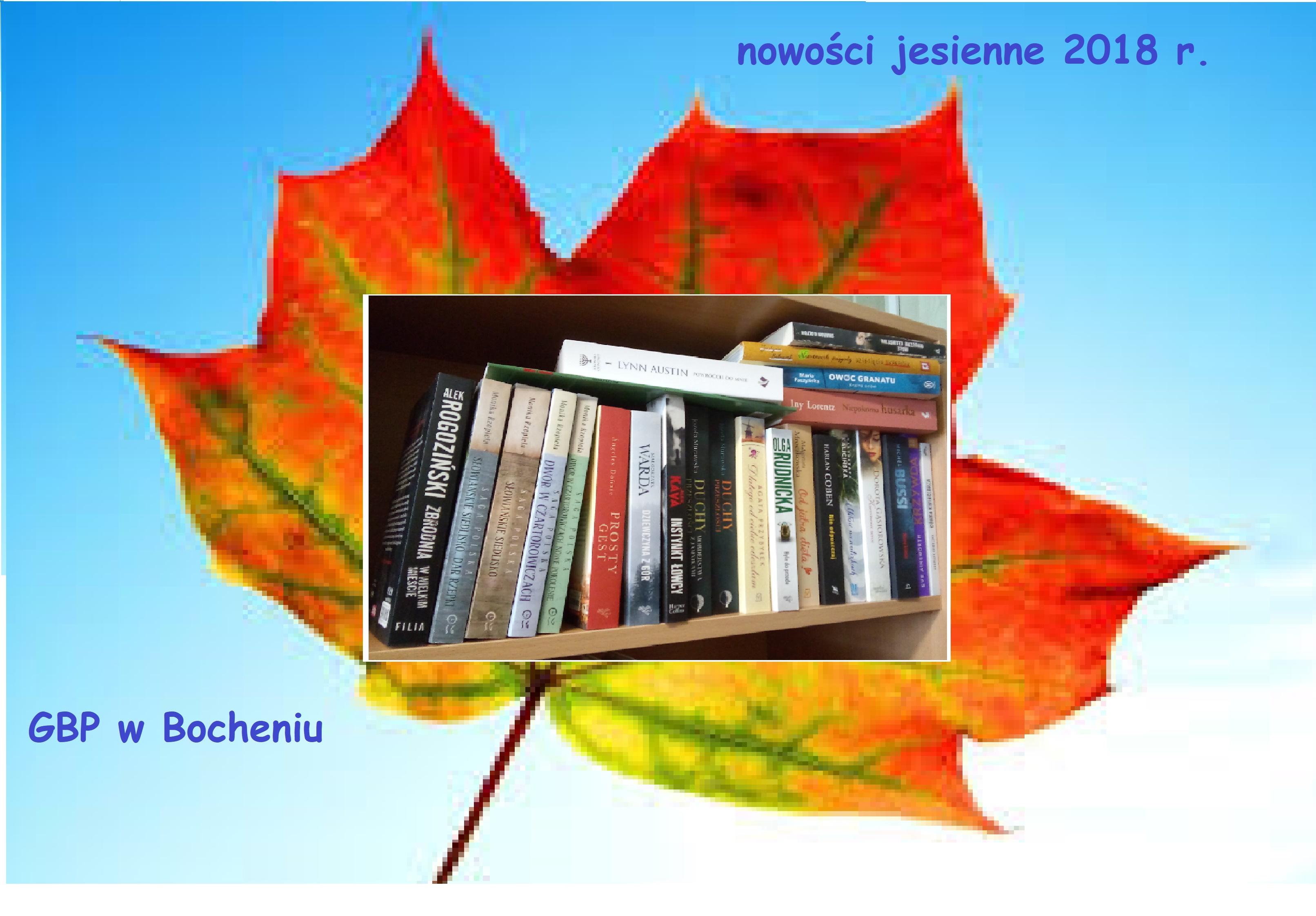 Jesień obfituje w nowości książkowe